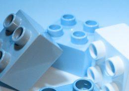 Legosteine. designritter / pixelio.de