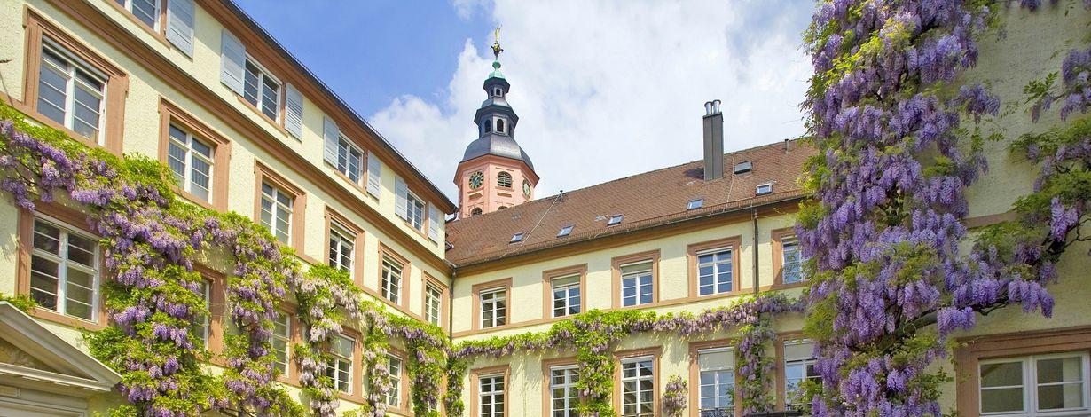 Rathaus der Stadt Baden-Baden, im Bild der Rathausinnenhof. Bildquelle: Stadtpressestelle Stadt Baden-Baden